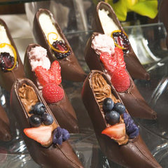 Chocolate High Heeled Shoes
