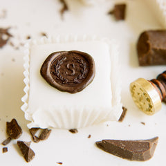 How to Make Chocolate Wax Seals for Wedding Invitations Cakes and Baking