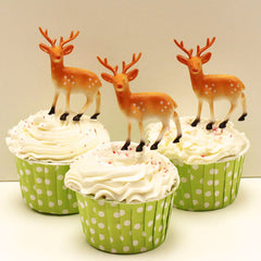Deer on top of Cupcakes