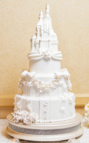 Disney's Sleeping Beauty Castle Wedding Cake
