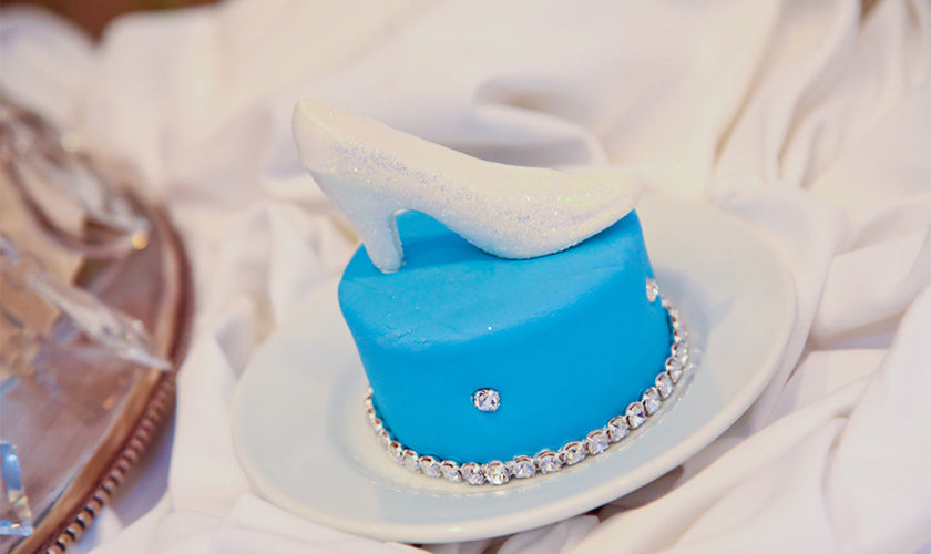 Disney's Glass Slipper Cupcake