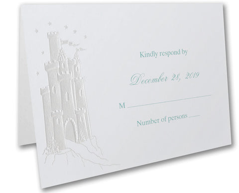 Fairy Tale Invitation Folded Card