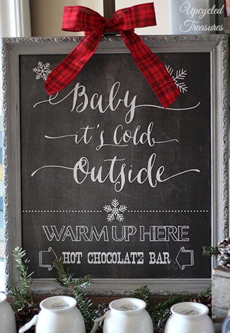Free Hot Chocolate Printable Bar Sign