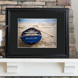 Personalized Nautical Theme Print with Wood Frame
