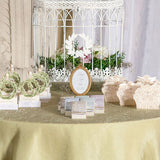 Gold Oval Baroque Frame Wedding Party Table Decor