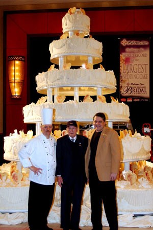 biggest tier wedding cake guinness world records world s largest wedding cake 11741