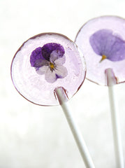 Homemade Flower Lollipos