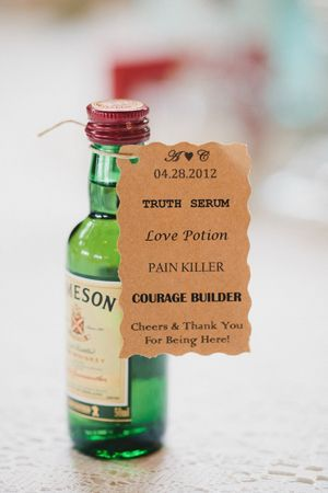 Jameson Whisky Wedding Party Favor