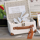 Wanderlust Wedding Mini Suitcase Wishing Well