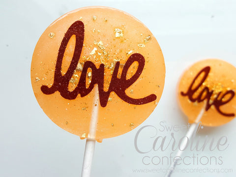 Love Lollipops, Wedding Favors,