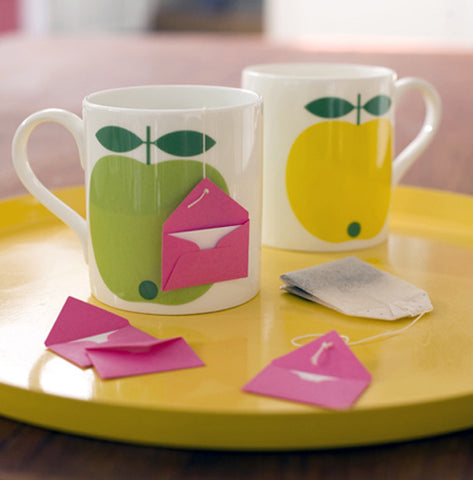 Tea Bag Love Note String and Tea Bag