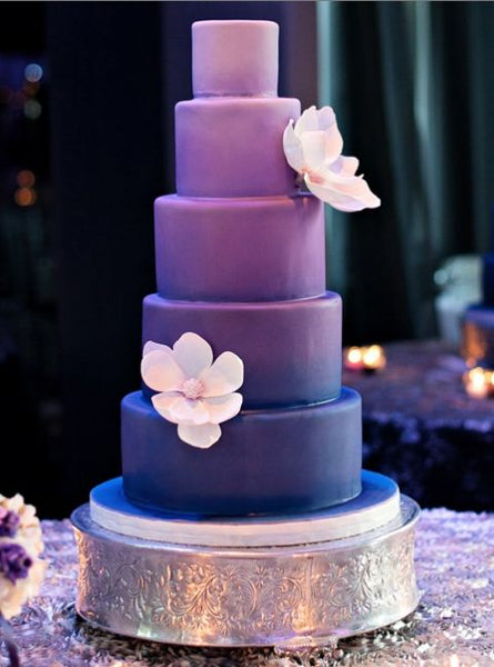 Our Top 5 Fave Purple Wedding Cake Candy Weddings