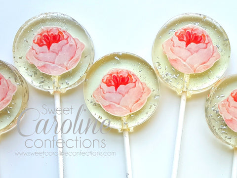 Garden Party Rose Party Favors