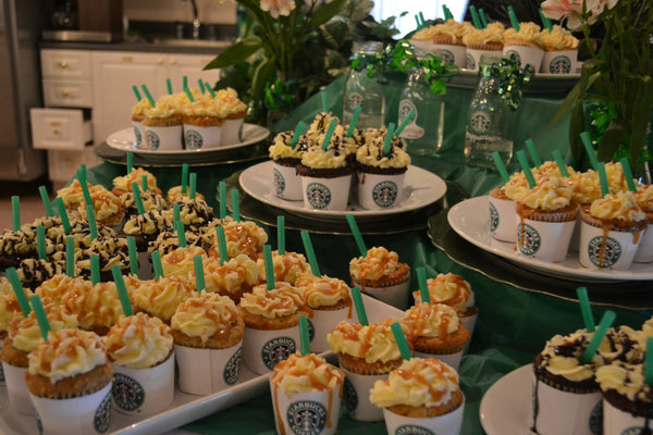 Cute and Petite Starbucks Frappucino Cupcakes
