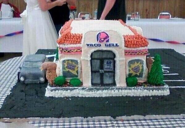 Taco Bell Wedding Cake Candy Cake Weddings Favors And