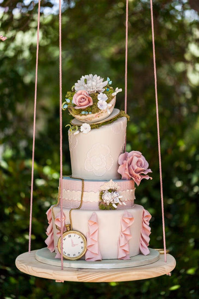 Teacup Wedding Cake Topper