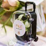 Mini Travel Trolley Suitcase Wedding Party Favor