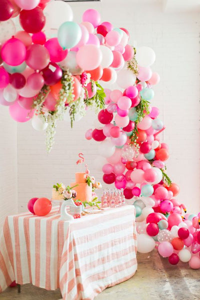 Floral and Balloon Installation from BHLBN