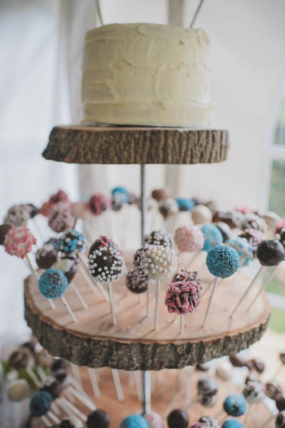 Rustic Wedding Cake Pop Wedding Cake
