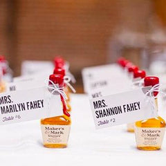 cinnamon whisky wedding party favors