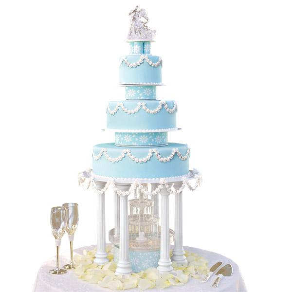 wilton wedding cake separators wilton s delicacy wedding cake with 27528