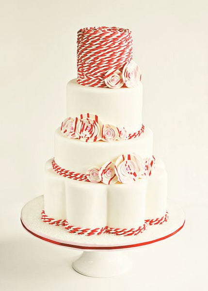 Peppermint Twist Wedding Cake by Sweetapolita on Flickr