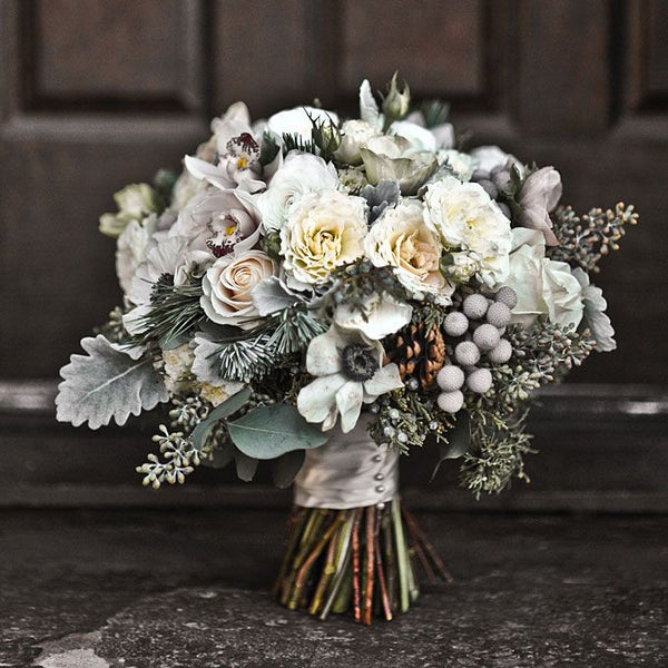 Winter Wedding Flowers Bouquet