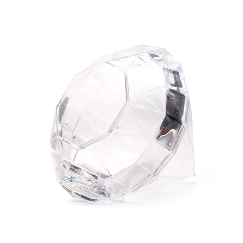 Diamond Clear Acrylic Wedding Party Favor (Pack of 4)