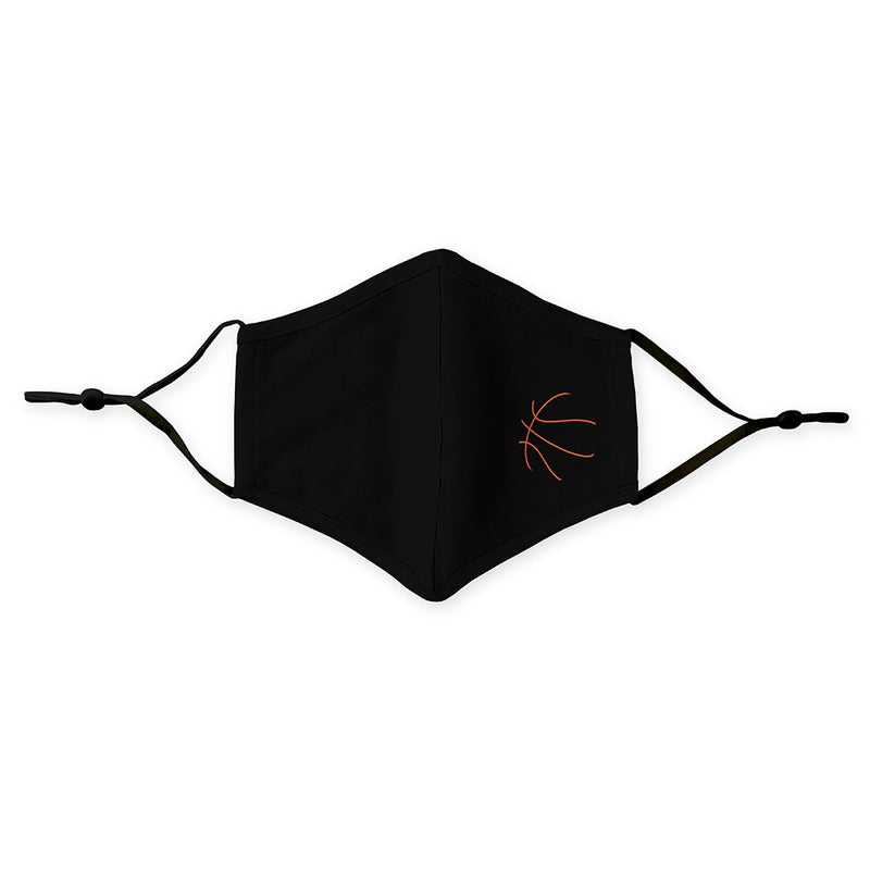 Adult or Kids Protective Cloth Face Mask - Basketball