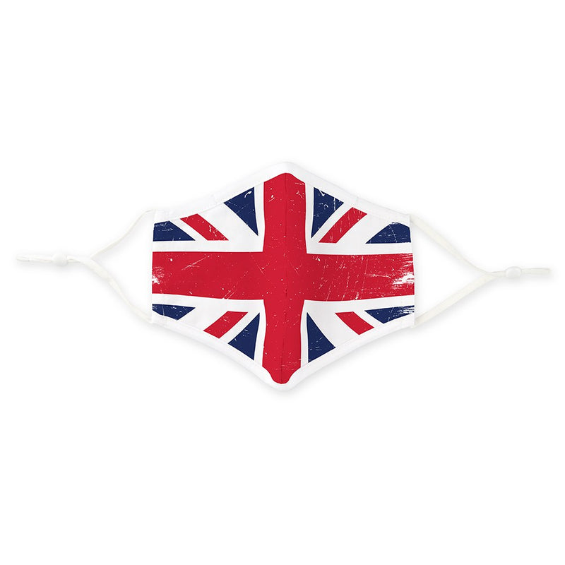Personalized Adult Protective Cloth Face Mask - Great Britain Flag