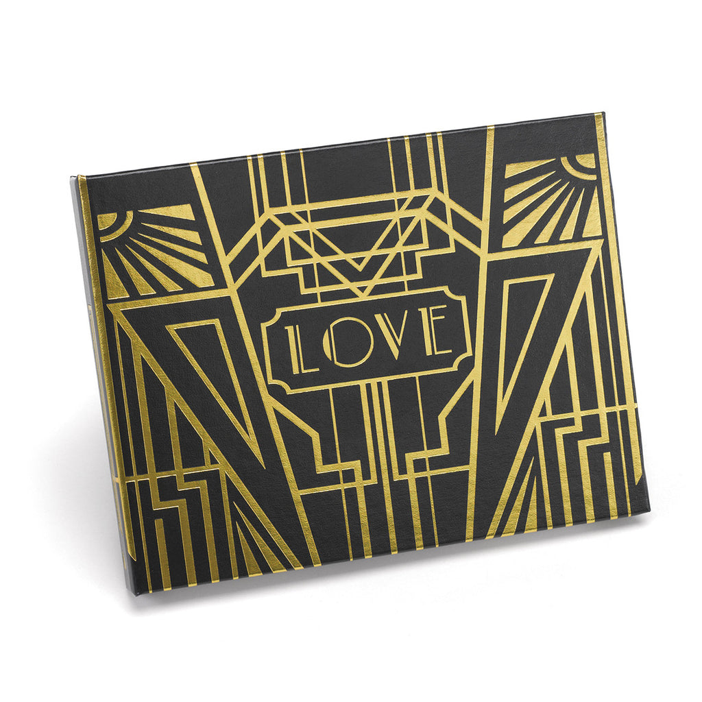 Art Deco Wedding Guest Book