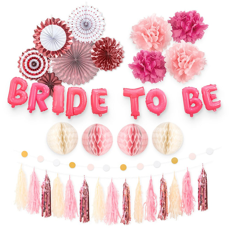 Bride-To-Be Assorted Party Decoration Kit