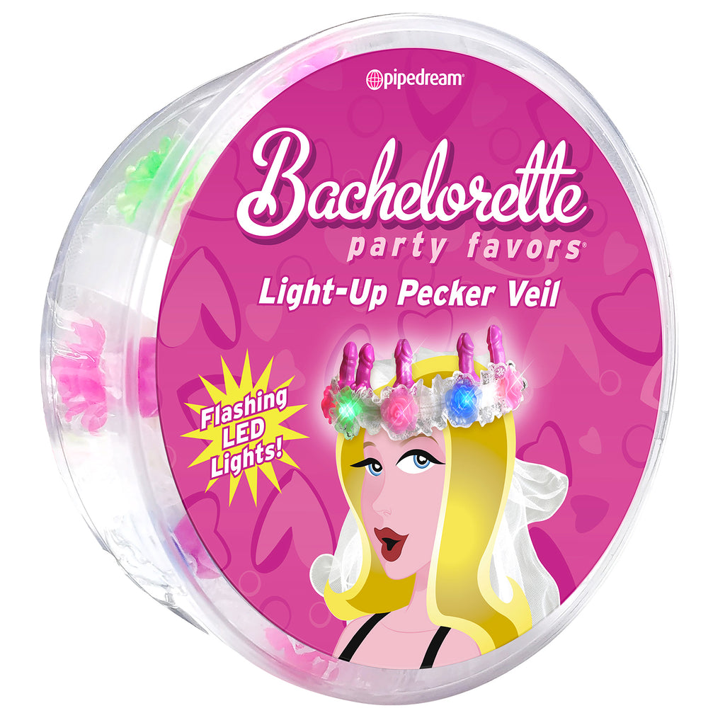 Bachelorette Party Favor LED Light-Up Veil