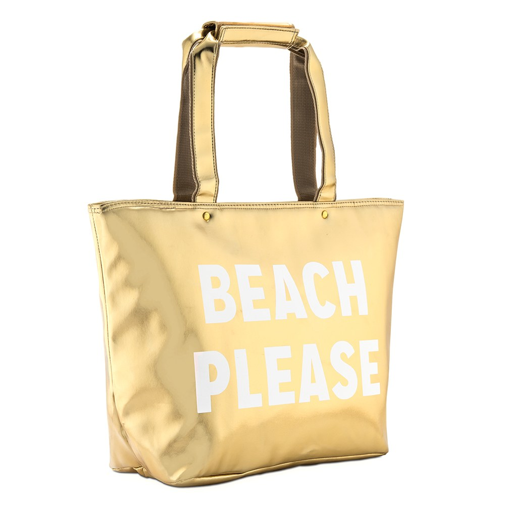 Beach Please Insulated Cooler Tote Bag