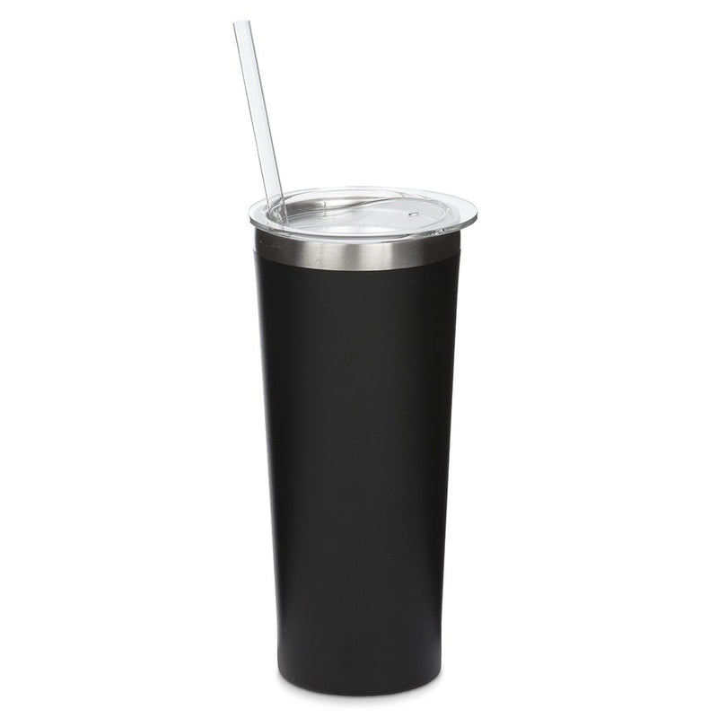Black Stainless Steel Drink 22 oz Tumbler