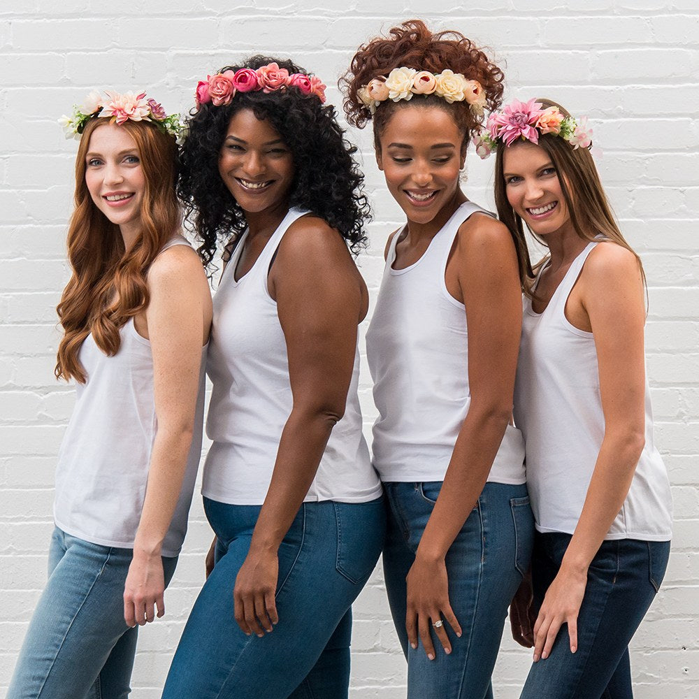 Bridal Flower Bohemian Flower Crowns for Weddings