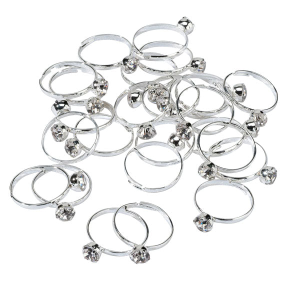 Bridal Shower Ring Game Party Set (Includes 25 Rings)