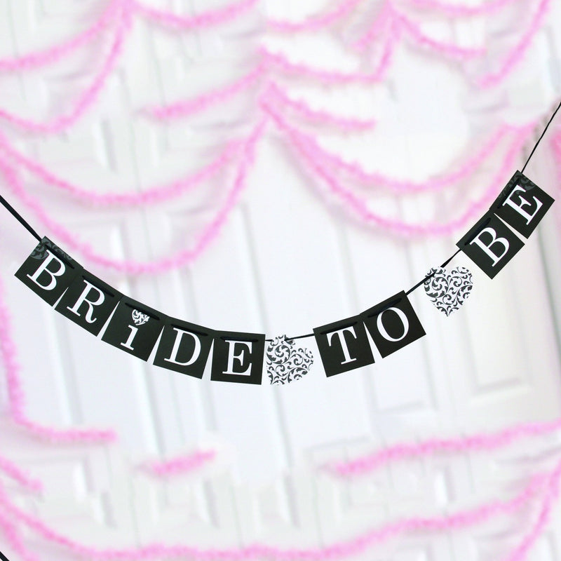 Bride-to-Be Banner + Bachelorette & Bridal Shower