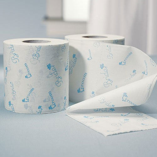 Toilet Paper for the wedding - Something Blue