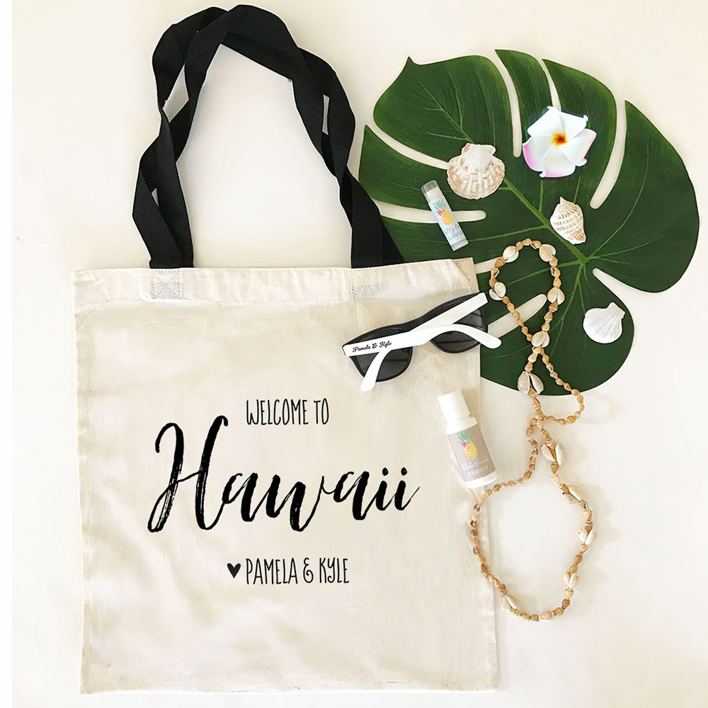 Personalized Destination Wedding Welcome Bag