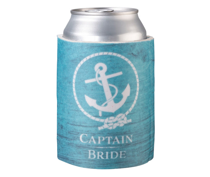 Captain Bride Cup Drink Cozy