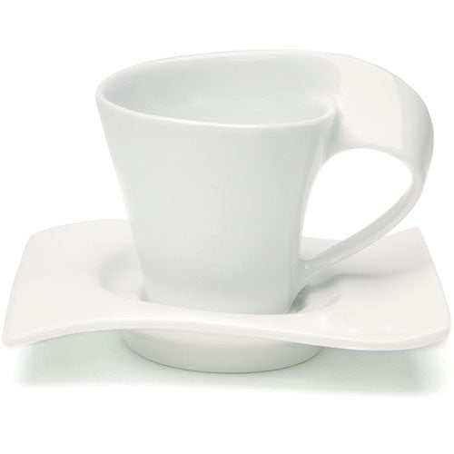 Swish Cup and Saucer Wedding Favor Set (Set of 4)