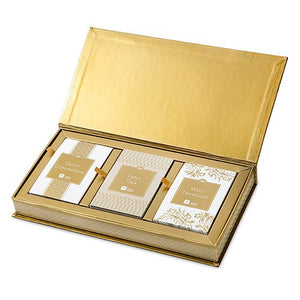 Gold Dinner Party Trivia Game Set
