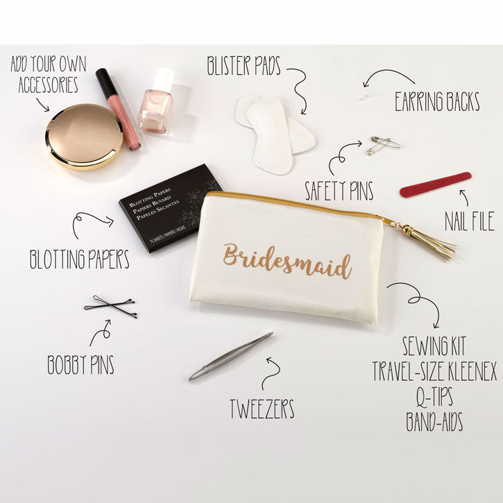 Bridesmaid Survival Bag Contents