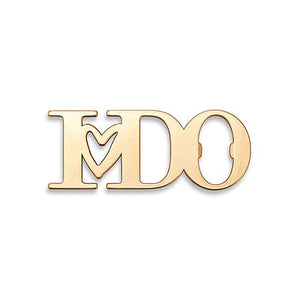 Gold I DO Bottle Opener Wedding Party Favor