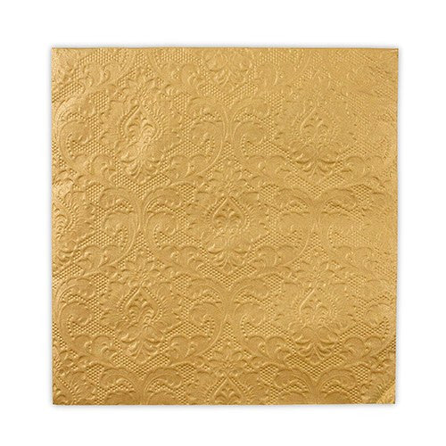 Gold Paper Party Napkins (Pack of 20)