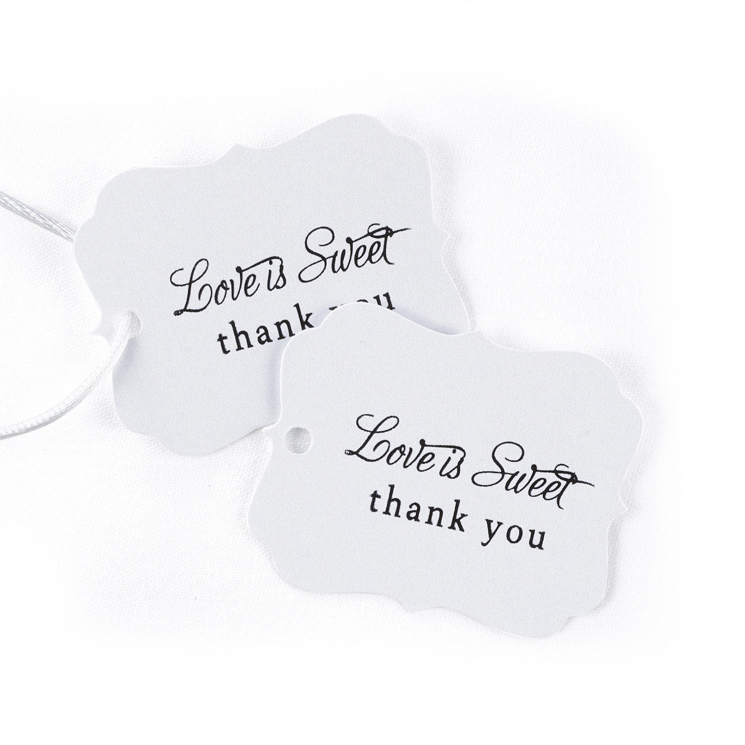 Love is Sweet Wedding Party Favor Cards – Candy Cake Weddings