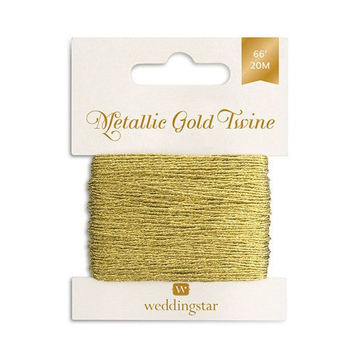 66-feet Metallic Gold Craft Twine