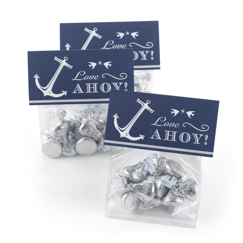 Nautical Beach Party Treat Kit Candy Bag