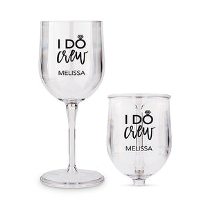 I Do Crew Travel Portable Nesting Wine Glass